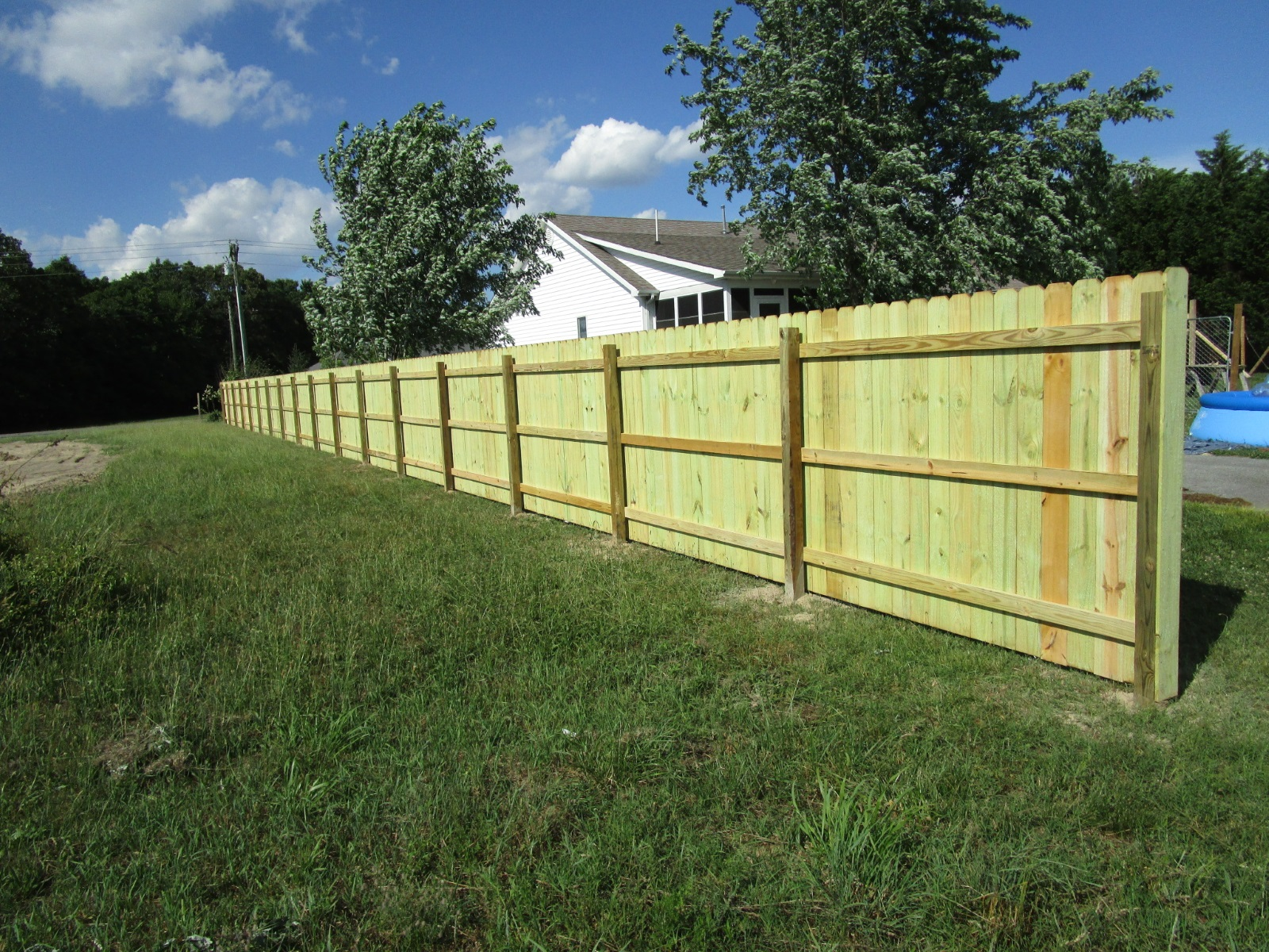 116_6ft-southen-yellow-pine-privacy-dog-ear-wood-fence-rear-side Wood - Forrest Fencing