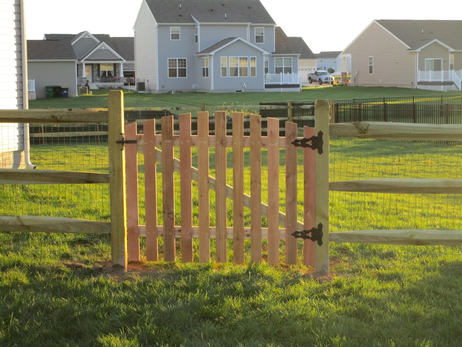 119_arched-walk-gate-syp-pressure-treated Wood - Forrest Fencing