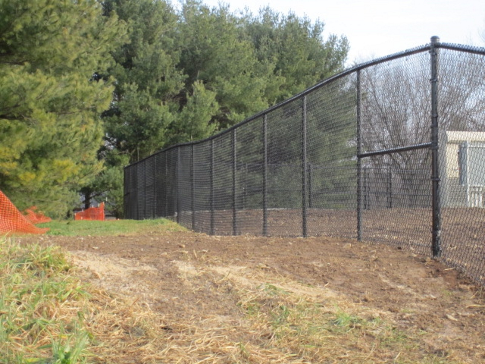 69_black-chainlink Solar Fields - Forrest Fencing