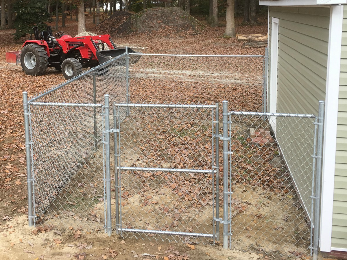 272_kennel-run-cl Chainlink - Forrest Fencing