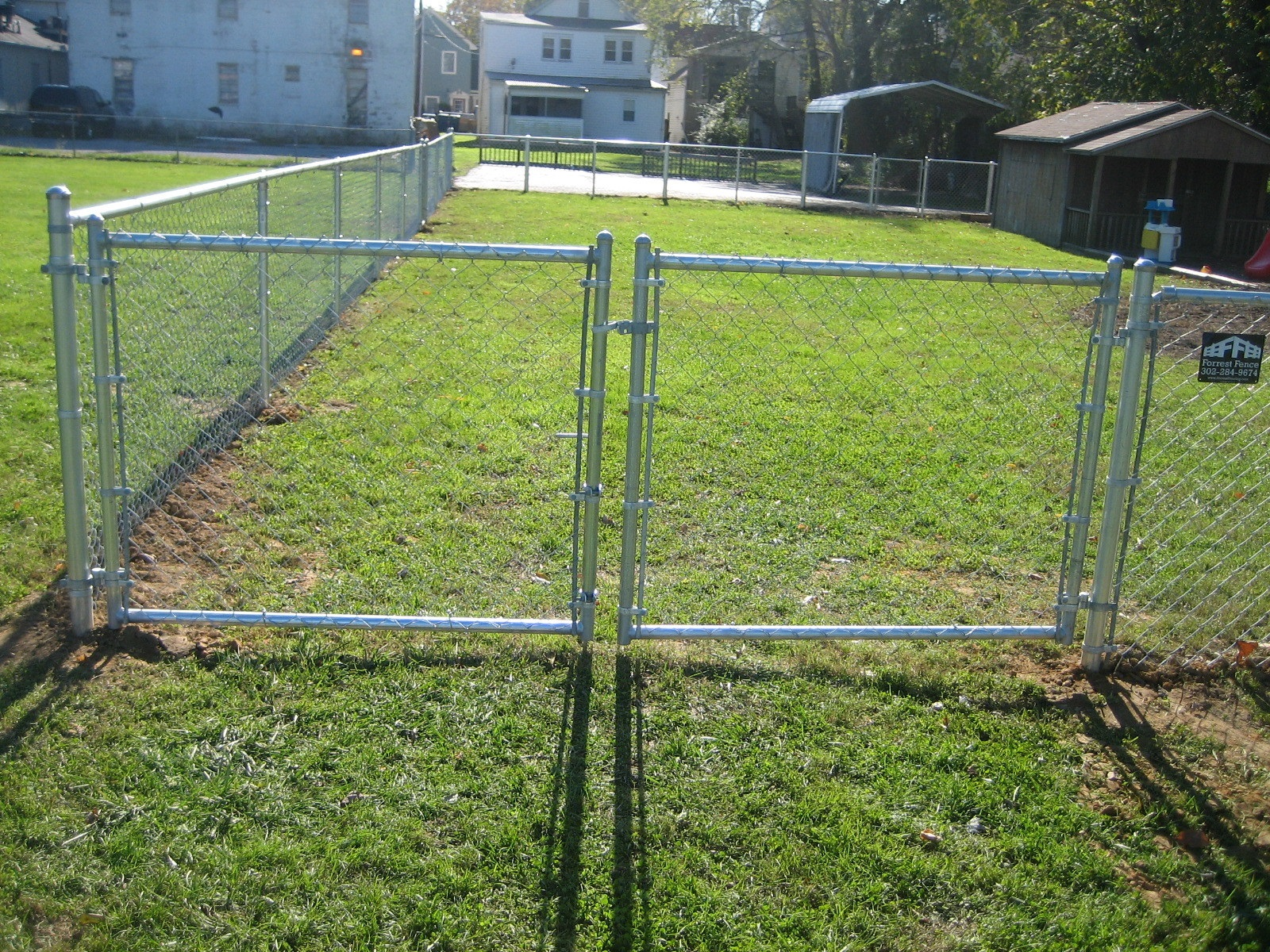 49_galvanzied-8ft-double-gatejpg Chainlink - Forrest Fencing