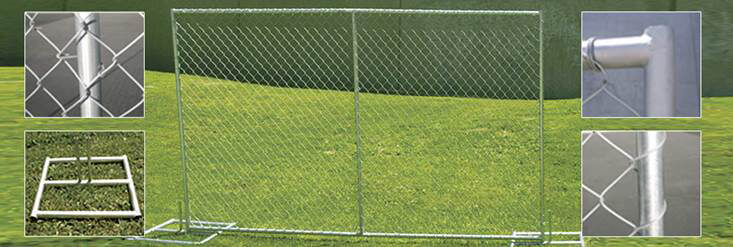 Temporary Fence Panels - Forrest Fencing